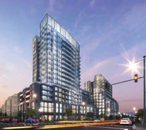 660 Eglinton Ave. E. Proposed development