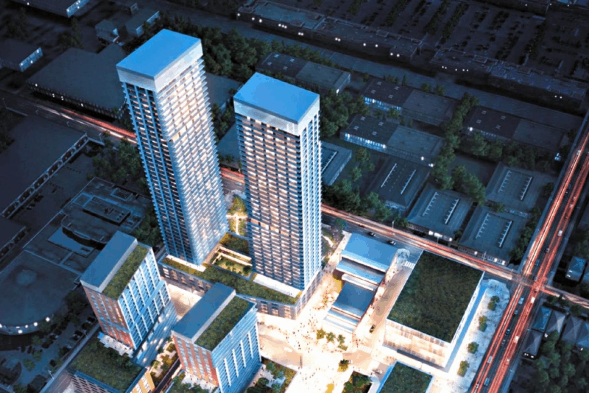 RioCan development at Laird & Eglinton