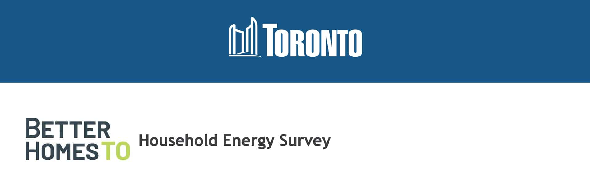 Toronto Household Energy Survey