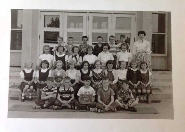 Northlea school - class photo 1955