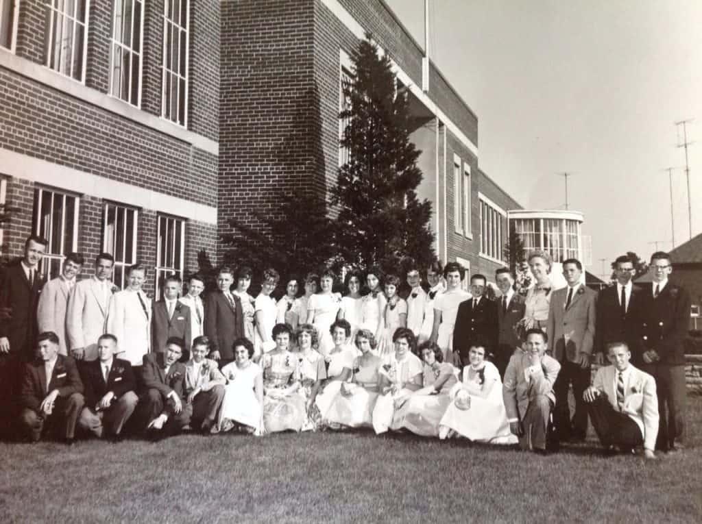 Northlea school - graduation photo 1960
