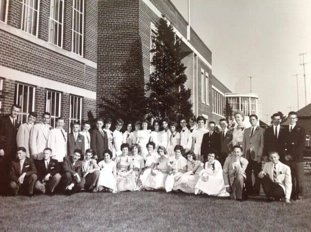 Northlea school - graduation photo 1960