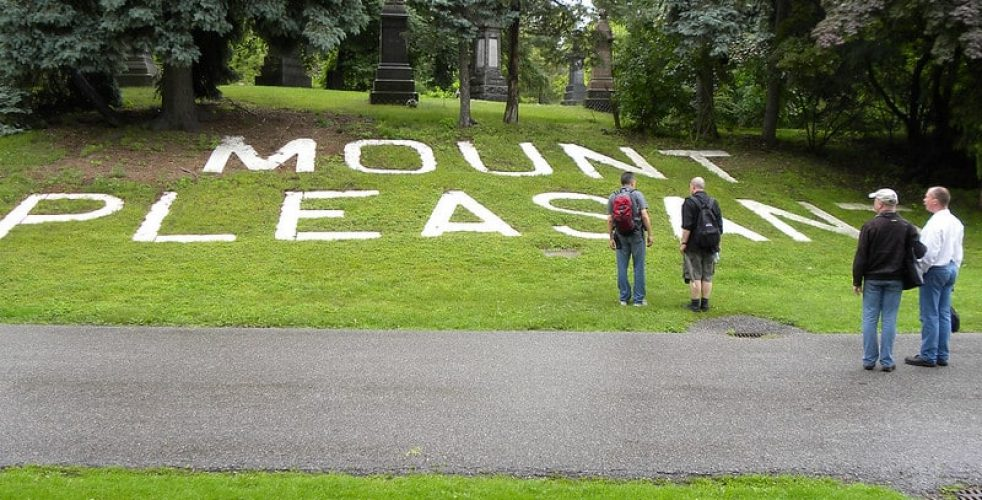 Petition about Mount Pleasant Cemetery