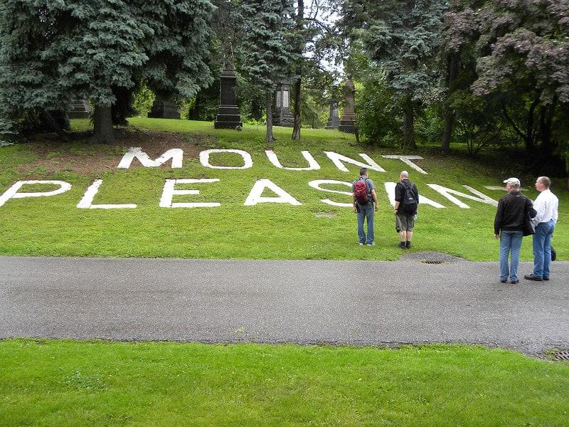 Photo of Mount Pleasant Cemetary